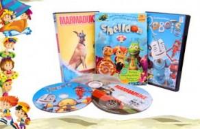 DVD phim Hoạt hình chính hãng nhập từ Singapore - Trải Nghiệm Những Tình Tiết Vui Nhộn, Lý Thú Với Combo 3 Đĩa Phim Hoạt Hình Dành Cho Các Bạn Nhỏ Gồm: Shelldon, Marmaduke, Robots. Giá 210.000 VNĐ Còn 85.000 VNĐ, Giảm 60%.