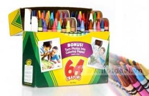 Hộp Bút Màu Crayola 64 Món – Màu Đẹp, Sắc Nét – Cho Bé Thỏa Sức Sáng Tạo Và Phát Triển Tài Năng Hội Họa. Voucher 149.000 VNĐ, Còn 89.000 VNĐ, Giảm 41%.