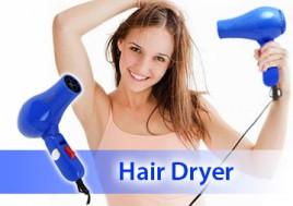 Máy Sấy Tóc Hair Dryer - Thiết Kế Nhỏ Gọn, Xinh Xắn – Giúp Bạn Sở Hữu Mái Tóc Bóng Đẹp Và Những Kiểu Tóc Như Ý. Sản Phẩm Trị Giá 120.000Đ Chỉ Còn 65.000Đ. Giảm 46%