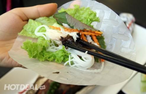 Thưởng Thức 1 Phần Cá Saba Nauy Nướng Hoặc 1 Phần Bánh Takoyaki 6 Viên + 1 Ly Nước Ngọt Tại Nhà Hàng Haani. Voucher 79.000 VNĐ, Còn 39.000 VNĐ, Giảm 51%.