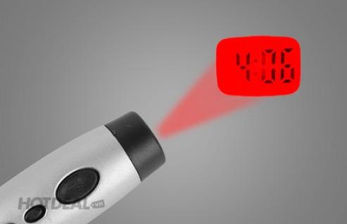 Móc Khóa Đèn Pin Chiếu Giờ - Phụ Kiện Độc Đáo 03 Trong 01 - Vừa Là Đèn Pin, Vừa Xem Giờ Và Là Móc Khóa Xinh Xắn, Tiện Dụng. Giá 80,000 VNĐ, Còn 45,000 VNĐ, Giảm 44%.