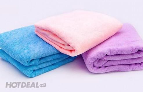 Khăn Tắm Đa Năng Size Lớn, Chất Liệu Cotton Cao Cấp, Mềm Mại, Thấm Hút Tốt, Cho Bạn Thoải Mái Sử Dụng. Giá 150.000 VNĐ, Còn 79.000 VNĐ, Giảm 47%.