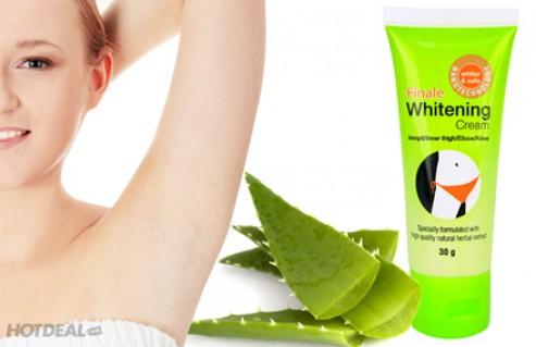 Làn Da Trắng Ngần Với Kem Đặc Trị Thâm, Làm Trắng Da Vùng Nách, Vùng Bikini Nanomed Finale Whitening Cream (50g). Giá 190,000 VNĐ, Còn 89,000 VNĐ, Giảm 53%.