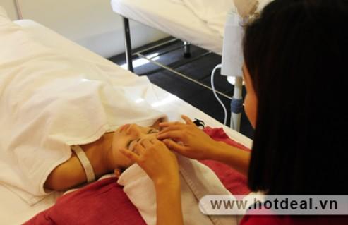 Làn Da Phục Hồi Sức Sống, Trắng Hồng Tự Nhiên Với Liệu Trình Massage Mặt Liệu Pháp Collagen Và Mỹ Phẩm Dermalogica Chuyên Nghiệp Tại Spa Dermalogica. Voucher 570,000 VNĐ, Còn 99,000 VNĐ, Giảm 83%.