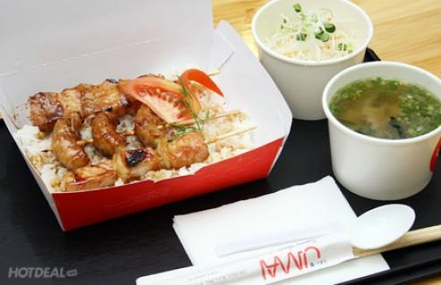 Thưởng Thức Combo 02 Set Xiên Nướng Thơm Ngon Mang Phong Vị Nhật Bản Tại Umai Restaurant. Voucher 124.000 VNĐ Còn 75.000 VNĐ, Giảm 40%. .
