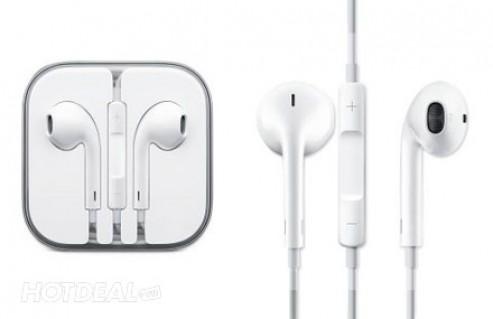 Bộ Sản Phẩm Dành Cho iPhone/ iPad/ iPod Gồm 1 Tai Nghe Earpods, 1 Sạc, 1 Cáp – Phụ Kiện Tiện Ích Dành Cho Các Bạn Trẻ Yêu Công Nghệ. Giá 200.000 VNĐ, Còn 109.000 VNĐ, Giảm 46%.