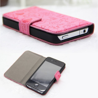 Hot Deal - Bao Da iPhone4/ 4S Hoa Tiet