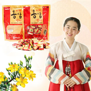 Hot Deal - Keo Vi Hong Sam Korea