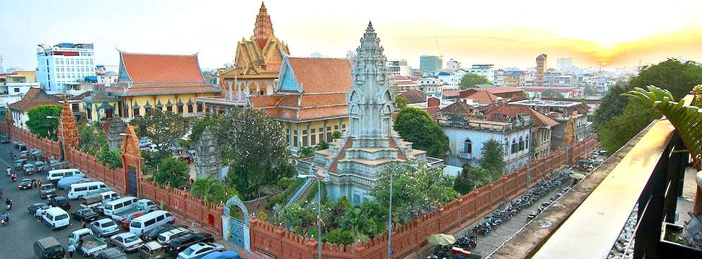 Tour Du Lịch Mua Sắm Ẩm Thực Phnom Penh – Cố Cung Oudong 2N1Đ