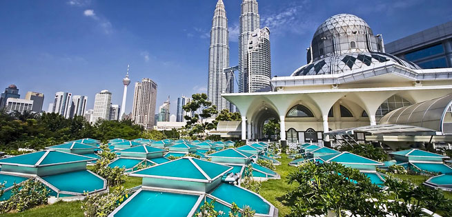 Hot Deal - Tour Cao Cap Malaysia – Singapore 6N5D Gom Ve May Bay Khu Hoi