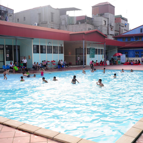 Vé Bơi 7 Lượt Tại Bể Bơi Olympia