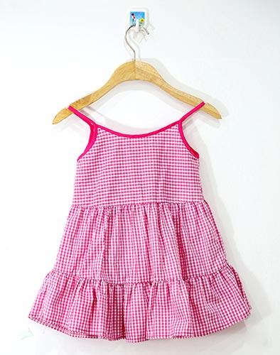 Đầm Caro Summer Cho Bé