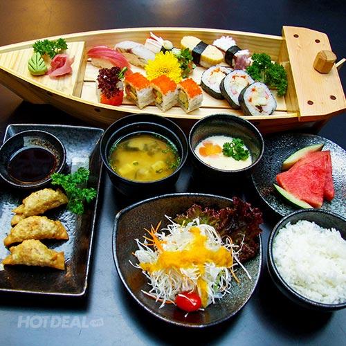 Set Menu Món Ăn Nhật Cho 2 Người Tại Ngọc Sushi
