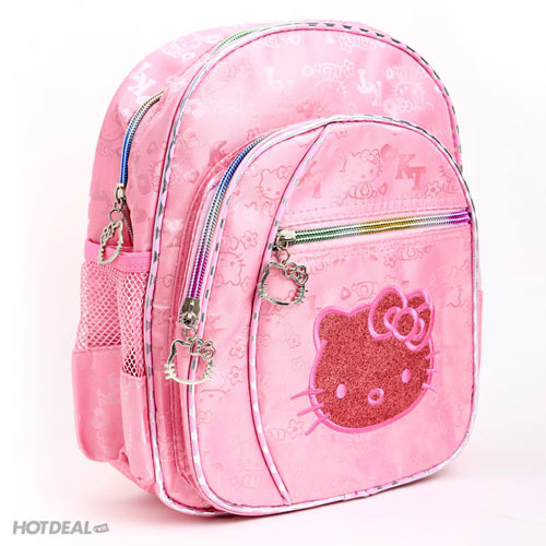 Ba Lô Hello Kitty Xinh Xắn Cho Bé
