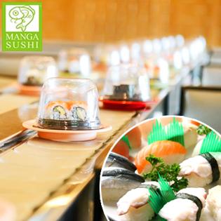 Hot Deal - Buffet Bang Chuyen Tai Manga Sushi