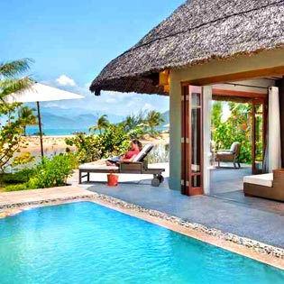 Hot Deal - An Lam Ninh Van Bay Villas 3N2D Gom Ve Vietjet Air