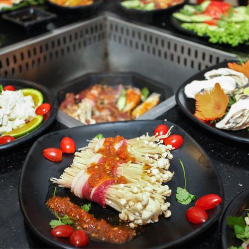 Buffet Lẩu Nướng Singapore Tại NH Sing - Royal City
