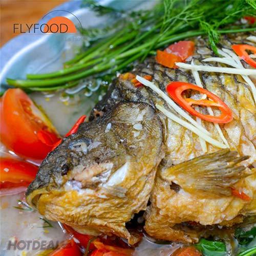 Riêu Cá Chép Cho 4- 5 Người Ăn Tại FlyFood (Mua Mang Về)
