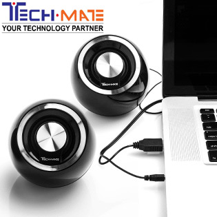 Hot Deal - Loa Vi Tinh USB 2.0 Tech Mate