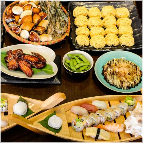 Buffet Lẩu Nhật + 30 Món Ăn Kèm Tại Sushi Dining AOI