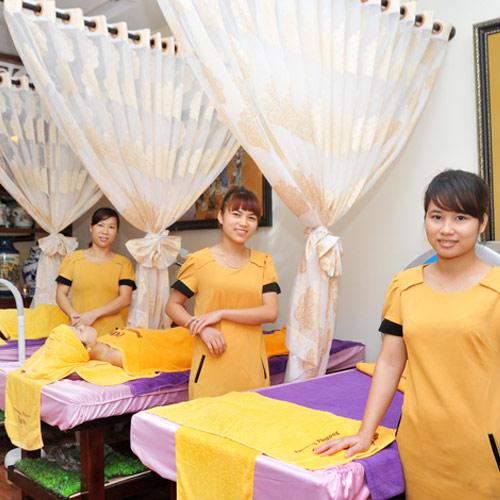 Massage Body Tẩy Da Chết Tại Phương Phương Spa.