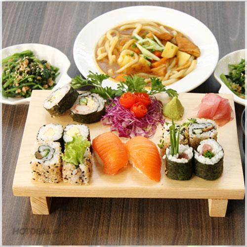 Set Món Ăn Nhật Cho 2 Người Tại Miya Sushi