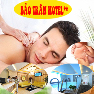 Hot Deal - Massage Nam Body + Foot (90') - Free Nuoc Suoi, Mi Goi KS Bao Tran