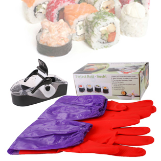 Hot Deal - Combo 1 May Lam Sushi + 1 Doi Gang Tay Rua Bat Lot Ni