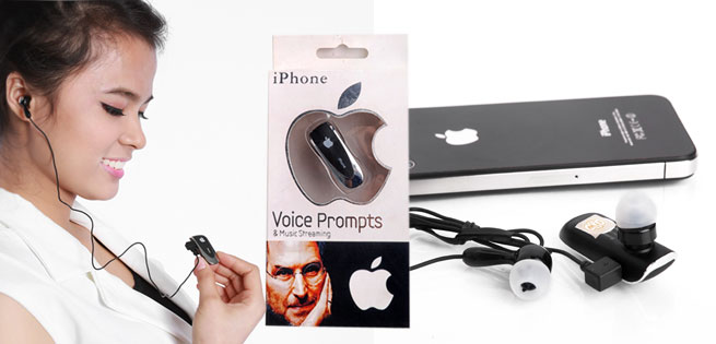 Hot Deal - Tai Nghe iPhone Voice Prompts Pro