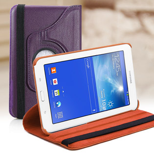 Hot Deal - Bao Da Samsung Galaxy Tab 3 Lite Xoay 360 Do