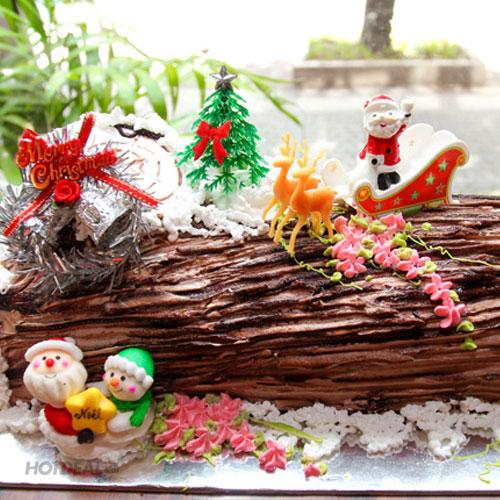 Bánh Kem Khúc Cây Giáng Sinh 2 Tấc Cao Cấp Tại 4G's Texas Bakery