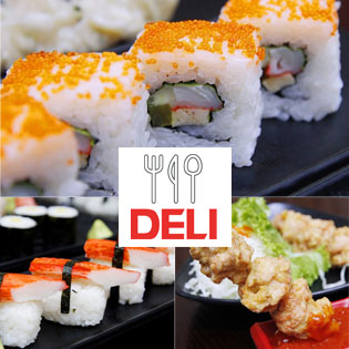 Hot Deal - Buffet Sushi Va Cac Mon An Choi Nhat Ban Tai NH Deli