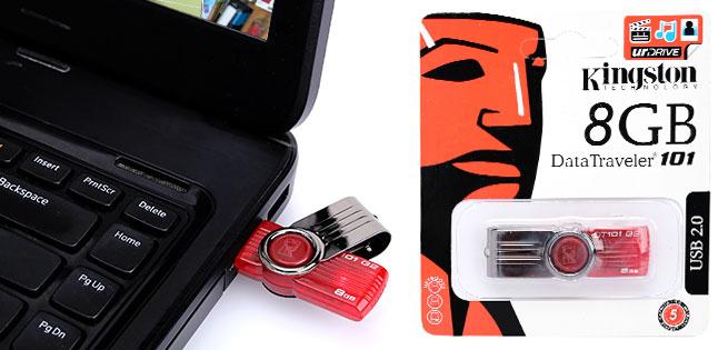 Hot Deal - USB Nap Xoay 8GB