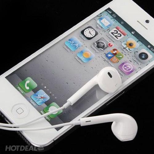 Tai Nghe iPhone Cao Cấp Lưới Xanh Cho Âm Thanh Hoàn Hảo