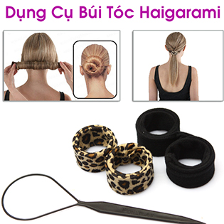 Hot Deal - Doc Dao Voi Combo 2 Dung Cu Bui Toc Da Nang Hairagami