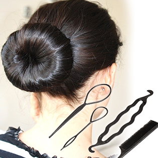 Hot Deal - Combo 9 Dung Cu Lam Toc Hairgami