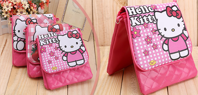 Hot Deal - Tui Deo Cheo Hoa Tiet Hello Kitty Cho Be Gai Loai Lon