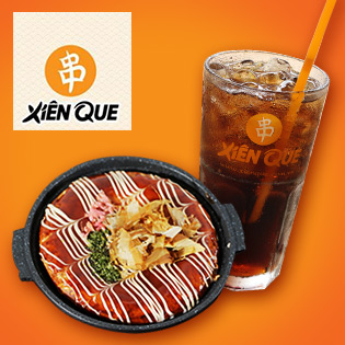 Hot Deal - Combo 1 Phan Banh Xeo Nhat Tu Chon + 1 Ly Pepsi/ 7Up