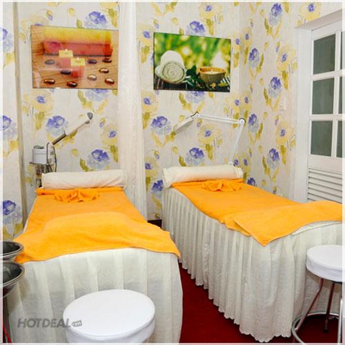 Chăm Sóc Da Mặt 12 Bước Kết Hợp Massage Ấn Huyệt Tại Spa The Love