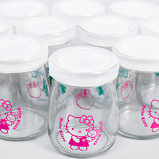 Hot Deal - Combo 12 Hu Sua Chua Hello Kitty Gia Dinh