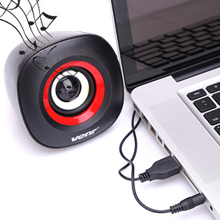 Hot Deal - Loa Vi Tinh 2.0 Venr Speaker VK360