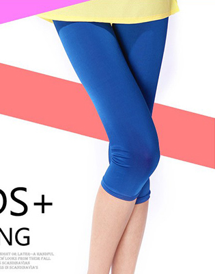 Hot Deal - Quan Legging Lung Chat Da Style Mau Sac Cho Ban Nu