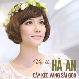 Hot Deal - Vien Toc Ha An - Combo Uon-Ep-Nhuom-Phuc Hoi Toc Hu Ton (Tang Hap)