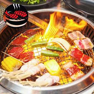 Hot Deal - Buffet Nuong Lau Nhat Ban - NH Yaki BBQ - Time City - Free Pepsi