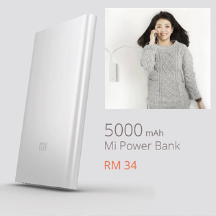 Hot Deal - Pin Sac Du Phong Xiaomi 5000mAh Chinh Hang