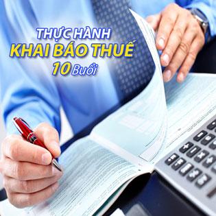 [Tp. HCM] Khóa Học Thực Hành Khai Báo Thuế (10 Buổi) – Trung Tâm Đào Tạo Việt Kế Toán, Giá: 120.000đ – Giảm -76%