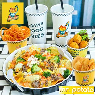 "Hot Deal - Combo ""Khoai Vang Dung Dieu"" 2 Nguoi Ngon Khong The Cuong Tai HT Mr.Potato"