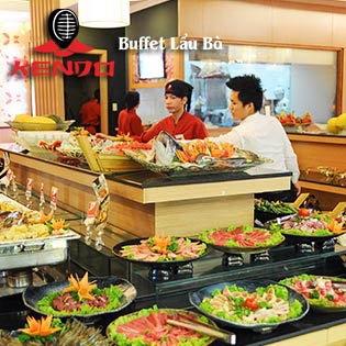 Hot Deal - Buffet Lau & Nuong Kendo Tai Royal City