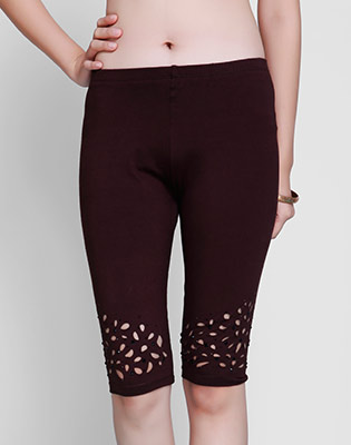 Hot Deal - Quan Legging Ngan Cat Lazer Dinh Da