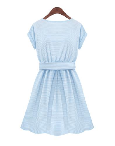 Đầm Sọc Kaki